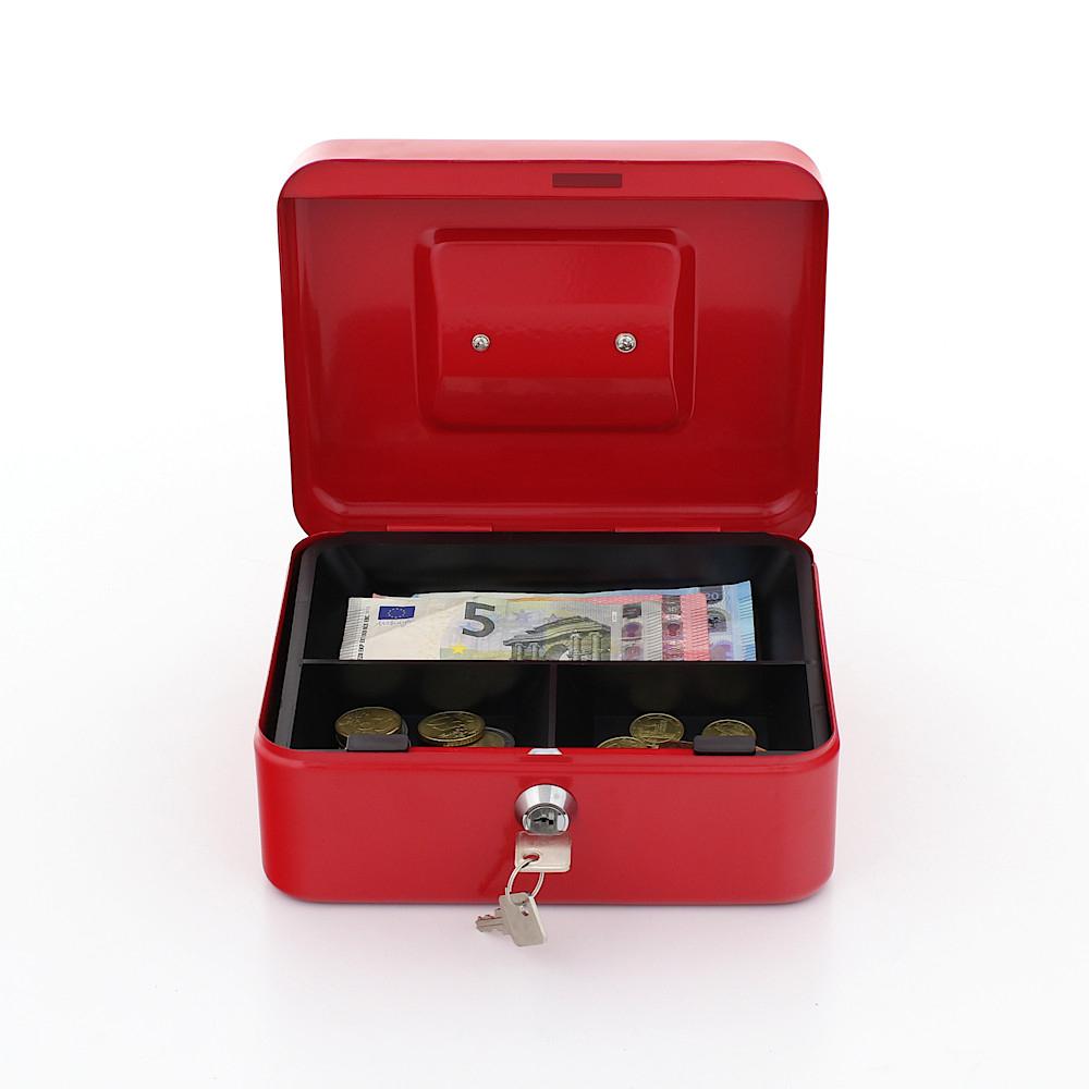Casetă Bani Traun 2 Roșie