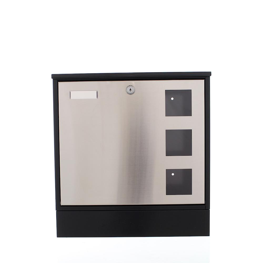 Cutie Poştală Rottner Design Neagră