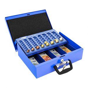 Rottner Geldkassette Brüssel blau