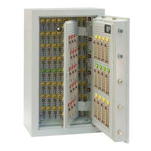 Rottner Schlüsseltresor EN1 STS 1300 Premium Elektronikschloss lichtgrau