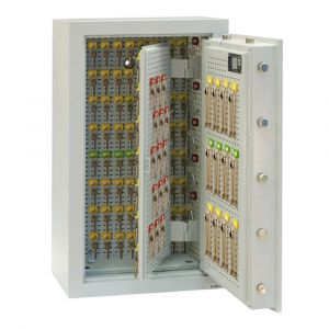 Rottner Schlüsseltresor EN1 STS 300 Elektronikschloss Premium lichtgrau