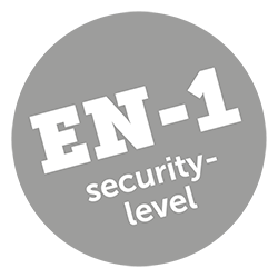 Icon Sicherheitsstufe EN-1